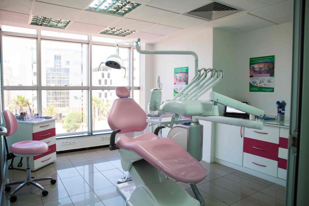 salle des femmes clinique dentaire la colline à casablanca