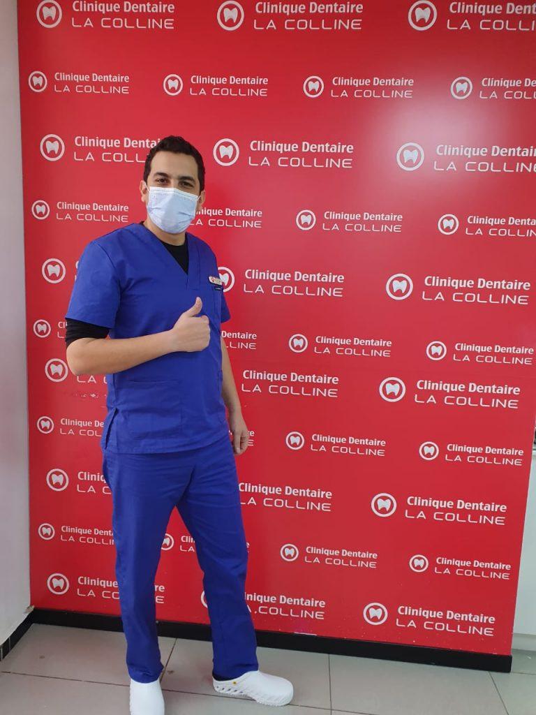 dr fouad aherraki à clinique dentaire la colline à casablanca
