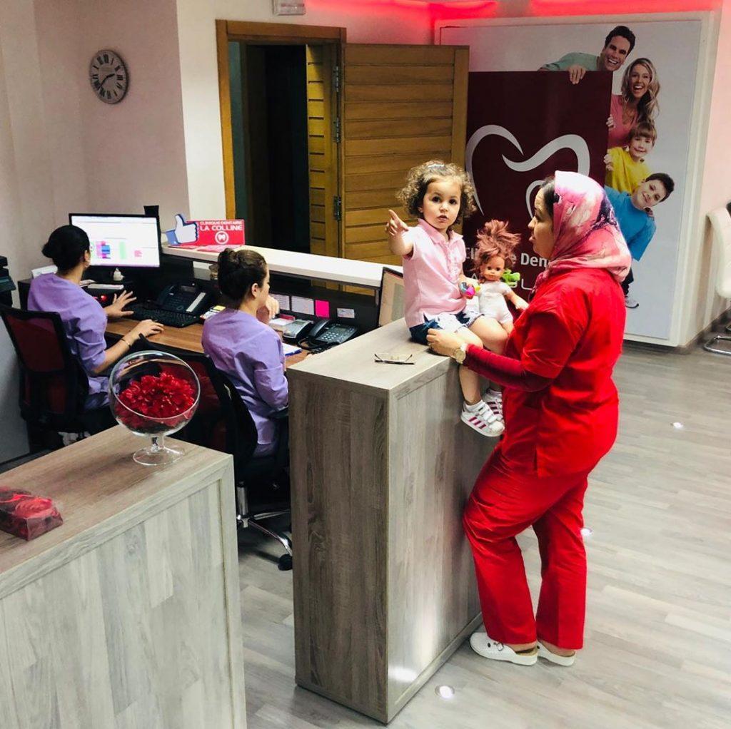 l'accueil clinique dentaire la colline dentiste-casablanca