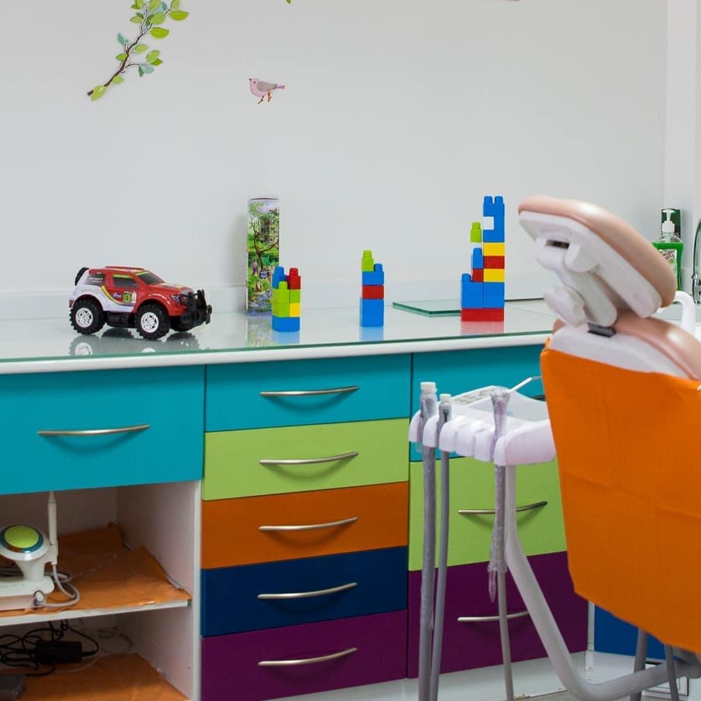 des jeux pour les enfants à la clinique